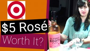 $5 Wine From Target | California Roots Rose Review (Best Wine Under $20 Series)