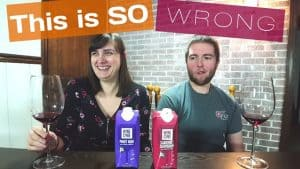 Wine to Send to Your Enemies – Target Wine Cube Review [Cab Sauv and Pinot Noir WINE FAIL]