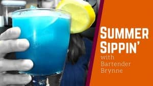 RASPBERRY BLUE LAGOON COCKTAIL RECIPE – Refreshing Summer Cocktail [Mixology 101]