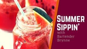 FROZEN WATERMELON MOJITO COCKTAIL – Refreshing Summer Drink