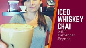 ICED WHISKEY CHAI [Best Fall Cocktails Series]