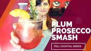 PLUM PROSECCO SMASH [Best Fall Cocktails Series]