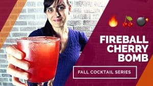 FIREBALL CHERRY BOMB COCKTAIL – Best Fall Cocktails