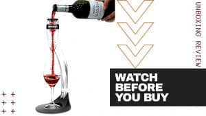 WINE AERATOR REVIEW [Venturi] – Decanter Replacement?