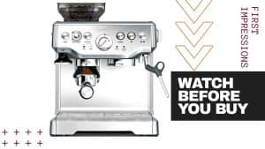BREVILLE BARISTA EXPRESS ESPRESSO MACHINE REVIEW [BES870XL]