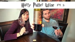HARRY POTTER WINE – Firebolt Red Blend Review [2019 Vintage]
