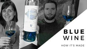 BLUE WINE – How It's Made [Amour Geneve Review]