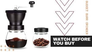 BEST BUDGET COFFEE HAND GRINDER – PARACITY Burr Grinder Review