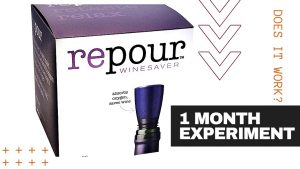 REPOUR WINE SAVER [1 Month After Opening Test]