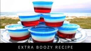 RED WHITE AND BLUE JELLO SHOTS [Easy Recipe]
