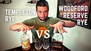 WOODFORD RESERVE RYE vs TEMPLETON RYE [Whiskey Reviews]