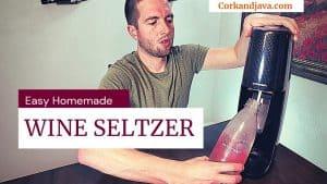 WINE SELTZER – Easy Homemade SodaStream Recipe