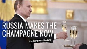 RUSSIA CLAIMS CHAMPAGNE – France Is OUTRAGED By New Putin Law